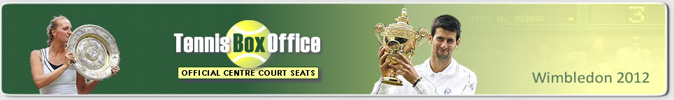 Call +44 20 8455 1972 to reserve your 2012 Wimbledon tickets